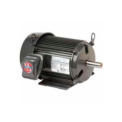 US Motors Unimount® TEFC, 2 HP, 3-Phase, 1750 RPM Motor, U2P2D