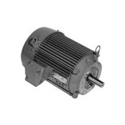 US Motors Unimount® TEFC, 5 HP, 3-Phase, 3520 RPM Motor, U5P1DK