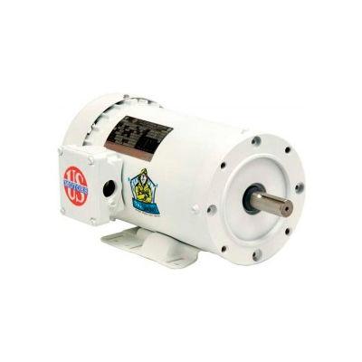 US Motors Washdown, 1/2 HP, 1-Phase, 3450 RPM Motor, WD12C1JC