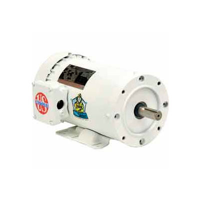 US Motors Washdown, 3 Phase, 7.5 HP, 3-Phase, 1765 RPM Motor, WD7P2D