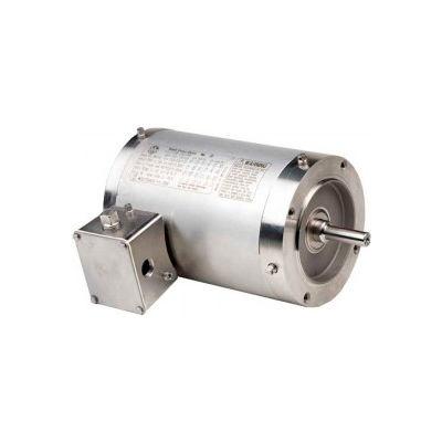 US Motors Washdown, 3 Phase, 1/2 HP, 3-Phase, 1140 RPM Motor, WDP12S3DCR