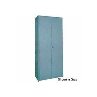 """Clipper ® Swinging Doors, Pair, 36""""W X 36""""H, Gray"""