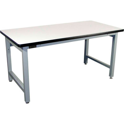 Pro-Line 72 x 30 HD7230P-HDLE-A31 Fixed Height Heavy Duty Workbench ESD Laminate Top - Gray