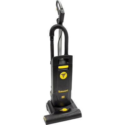 "Tornado® CVD 38 Deluxe Upright Vacuum, 19"" Cleaning Width, Black"