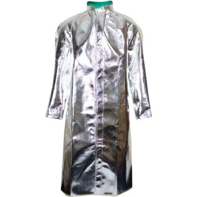 National Safety Apparel® Standard Aluminized 50 Coat, 2XL, Aluminized, C17AS2XL50