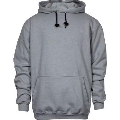 National Safety Apparel® Heavyweight Pullover FR Sweatshirt, 3XL, Gray, C21IG033XL