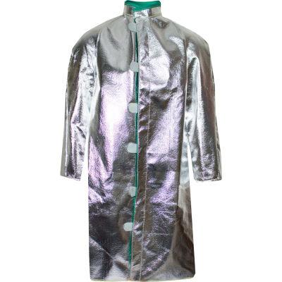 CARBON ARMOUR™ Silvers 19 oz. 45 Deluxe Aluminized Coat, XL C22NLXL45