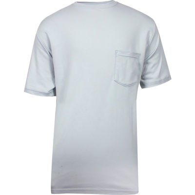 National Safety Apparel® FR Classic Cotton Short Sleeve T-Shirt, 3XL, Gray, C54PG3XL