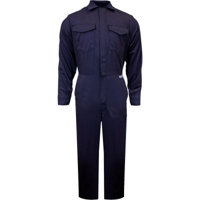 ArcGuard® 12 cal UltraSoft Flame Resistant Coverall, LG x 32, Navy, C88UPLG32