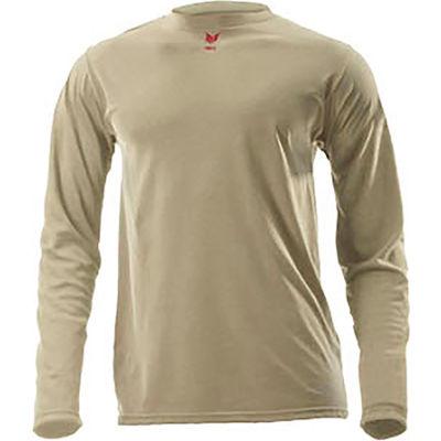 DRIFIRE® Lightweight Long Sleeve FR T-Shirt, XL, Desert Sand, DF2-CM-446LS-DS-XL