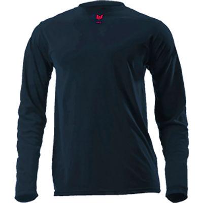 DRIFIRE® Lightweight Long Sleeve FR T-Shirt, M, Navy Blue, DF2-CM-446LS-NB-MD