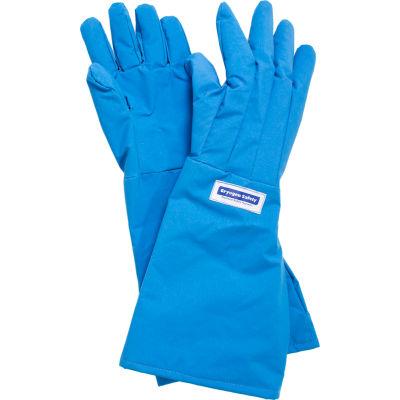 National Safety Apparel® Waterproof Elbow Length Cryogenic Glove, Medium, Blue, G99CRBEPMDEL