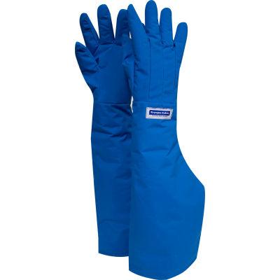 National Safety Apparel® Water Resistant Shoulder Cryogenic Glove, Medium, Blue, G99CRBERMDSH