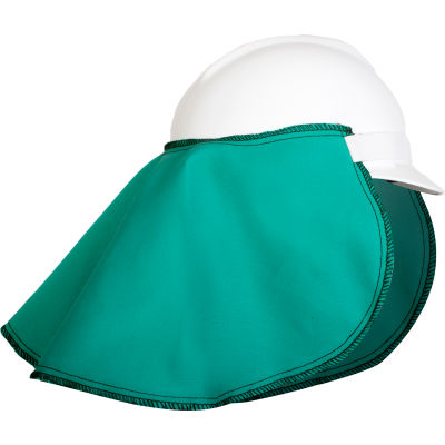 National Safety Apparel® Neck Protector OSFM, Green, H01GR003