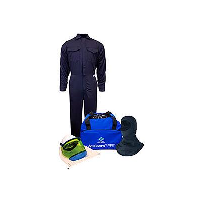 ArcGuard® KIT2CV08NGB2X 8 cal/cm2 Arc Flash Kit with FR Coverall and Balaclava, 2XL, No Gloves