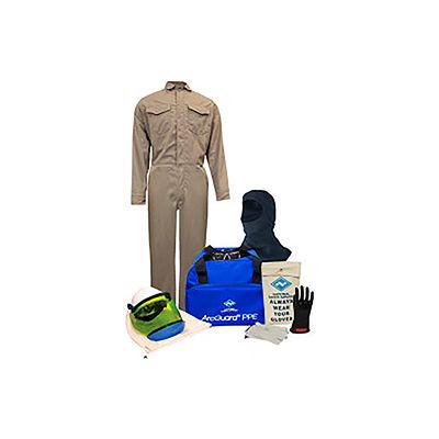 ArcGuard® KIT2CVPR08BL11 8 cal DuPont Protera Arc Flash Kit, FR Coverall & Balaclava, L, Sz 11