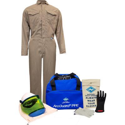 ArcGuard® KIT2CVPR08XL11 8 cal DuPont Protera Arc Flash Kit w/ FR Coverall, XL, Glove Size 11