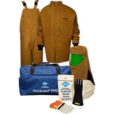 ArcGuard® KIT4SC100 LG09 100 cal/cm2 Arc Flash Kit, LG, Glove Size 09