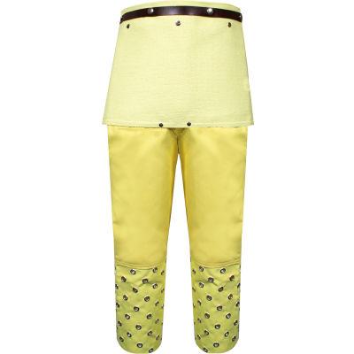 CutGuard™ Kevlar Twill Chap, OSFM, Yellow, L49TC0134