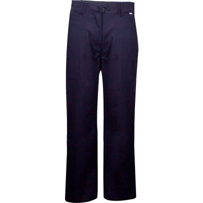 ArcGuard® Flame Resistant Work Pants in UltraSoft, 34 x 34, Navy, PNTUP34X34
