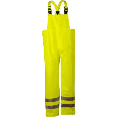 Arc H2O™ Flame Resistant Hi-Vis Rain Bib Overall, ANSI Class E, Yellow, S