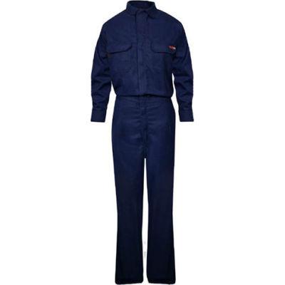 TECGEN Select® Women's Flame Resistant Work Shirt, M, Navy, TCGSSWN00116MDRG00