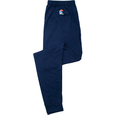 National Safety Apparel® Flame Resistant Control 2.0 Long Underwear, L, Navy