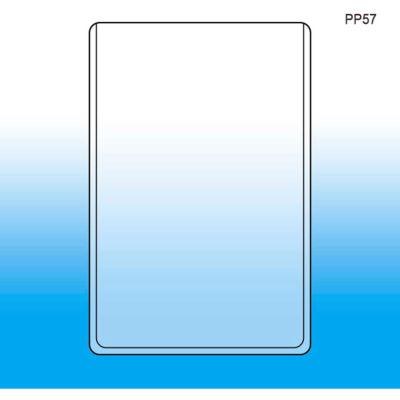 "Sign & Print Protector, 5"" X 7"" High - Pkg Qty 25"