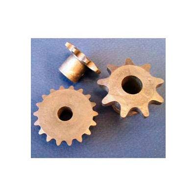 Plastock® #25 Roller Chain Sprockets 25b14, Nylatron, 1/4 Pitch, 14 Tooth Roller