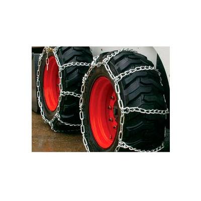 3400 Series Skid Loader Chains w/ HD Twist Cross Chains, 4 Link (Pair) - 0343555
