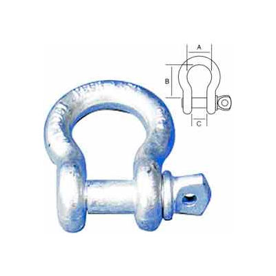 "Peerless™ 8059005 1-1/4"" Screw Pin Anchor Shackle - Pkg Qty 5"