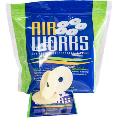 PolyPortables Air Works Discs, Mulberry, 300 Discs - GWAWSMB-300