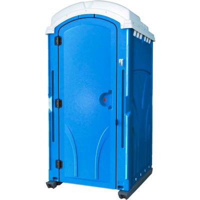 "PolyPortables Vantage Portable Restroom, Blue 47""L x 43""W x 92""H - PPVT-03"
