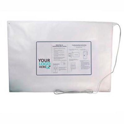 """Proactive Medical Extra Wide Bed Sensor Pad, 20"""" x 30"""" - 45 Day Warranty - 10130"""