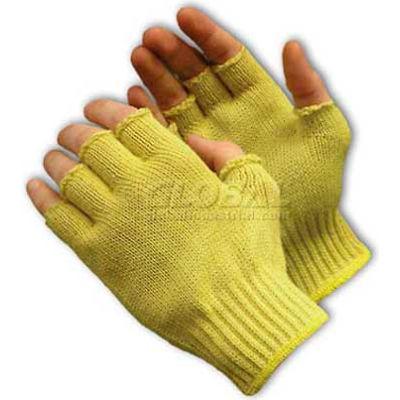 PIP Kut-Gard® Kevlar® Gloves, 100% Kevlar®, Medium Weight, Fingerless, 7 Gauge, XL