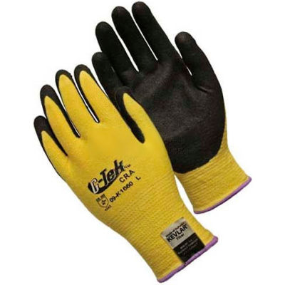 PIP Kevlar® Gloves W/Micro surface Nitrile Coated Palm & Fingers, Medium Weight, M