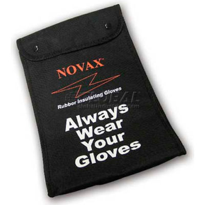 "PIP Protective Bag For Novax® Rubber Insulating Gloves, 11""L, Black, One Size"