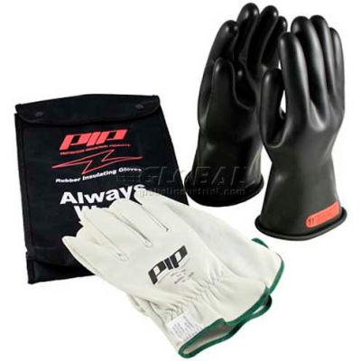 PIP ESP Kit, 1 Pair Black ESP Glove, 1 Pair Goat, Class 0, Size 8