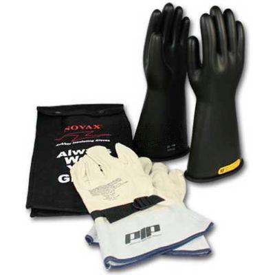 PIP ESP Kit, 1 Pair Black ESP Glove, 1 Pair Cow Protector, Class 2, Size 12