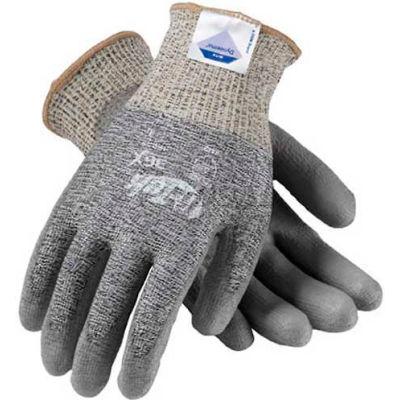 PIP G-Tek® 3G10 DSM Dyneema® Gloves, Gray & Black Knit W/Gray Polyurethane Palm, S