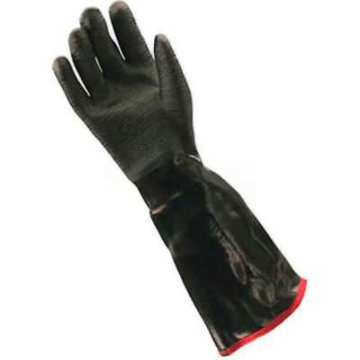 "PIP Neoprene Coated Gloves, Etched Rough Finish, Foam Insulated, 18""L, L"