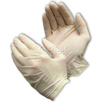 PIP Ambi-Dex® 62-322PF Industrial Grade Latex Gloves, Powder-Free, White, XL, 100/Box