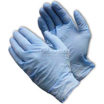 PIP Ambi-Dex® 63-336 Industrial Grade Disposable Nitrile Gloves, Powdered, Blue, XL, 100/Box
