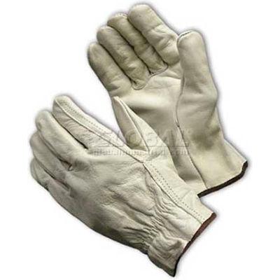 PIP Top Grain Cowhide Drivers Gloves, Straight Thumb, Regular Grade, L