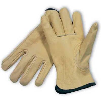 PIP Top Grain Cowhide Drivers Gloves, Keystone Thumb, Quality Grade, M