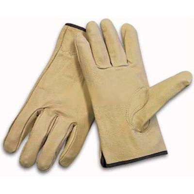 PIP Top Grain Pigskin Drivers Gloves, Premium Grade, Keystone Thumb, L