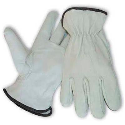 PIP Top Grain Goatskin Drivers Gloves, Premium Grade, Keystone Thumb, M