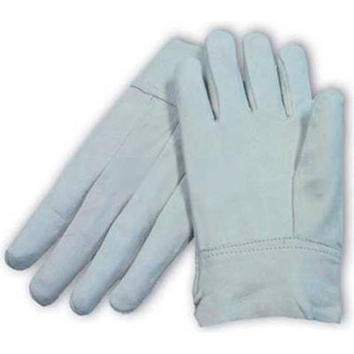 "PIP Mig Tig Welder's Gloves, Top Grain Goatskin, Clute Pattern, 2""Length, Leather, M"