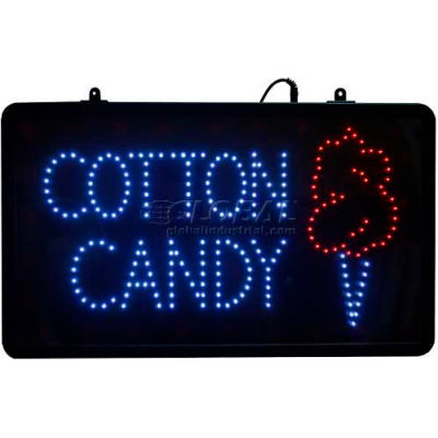 Paragon LED Cotton Candy Lighted Sign, 1096, Comes With Hardware Kit