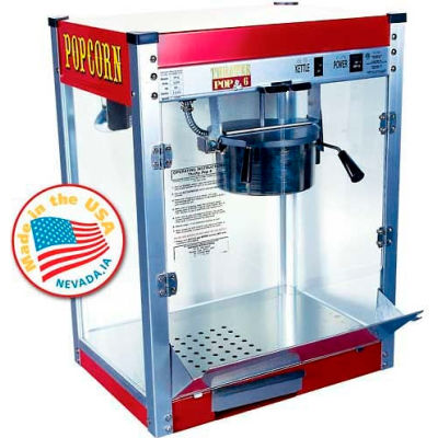 Paragon 1106110 Theater Pop Popcorn Machine 6 oz Red 120V 1200W